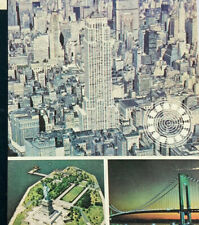 GAF Talking ViewMaster Reels New York City Sight-Seeing Tour 3 Reels 21 Pictures