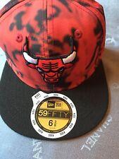 Era Chicago Bulls 59 FIFTY New 6 3/8 Niños Gorra Nuevo