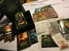 World of Warcraft - Collector's Edition Burning Crusade US Version - Signed +KEY