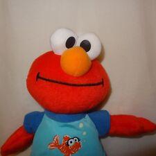 """Elmo Fish Pajamas  Stuffed Animal 13"""" Plush Toy Sesame Street Hasbro 2010"""