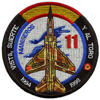 Parche Mirage F-1 Ejército del Aire España, Spanish Air Force patch. Military.