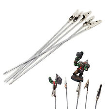 5/10pcs Pinces 150mm pour maintien Peinture Maquettes Miniatures Aérographe