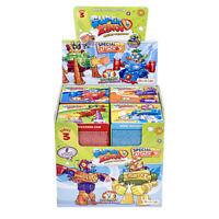 3 x Superzings Series 3 Superbots Figures Toy Robots 3 x Random Boxes sent
