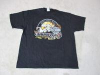 Harley Davidson Shirt Adult Extra Large Black Sturgis Black Hills Rally Biker