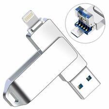 32/64/128/256/512GB OTG USB 3.0 Flash Drive Memory Pen Stick For iPhone iPad PC