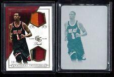 Chris Bosh National Treasures NBA GAME GEAR DUALS Patch #/25 Print Plate 1/1 LOT