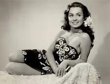 Susan Cabot Exotic Island Girl Original Pinup Photo Press Still 1950 B Movie