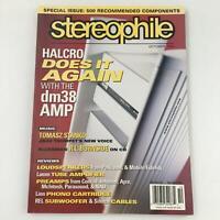 Stereophile Magazine October 2004 DM38 Amp Tomasz Stanko R.L. Burnside Newsstand
