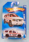 3118 HOT WHEELS / CARTE US / HW CITY WORKS 2009 / CHEVY TAHOE RESCUE 2007 1/64