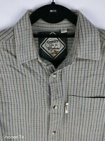 Tydale Country Men's Green Check Casual Cotton Shirt Size S
