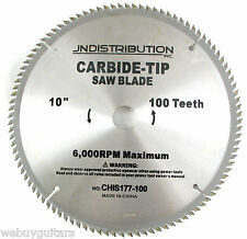 "New In Package 10"" Carbide Tip 100 Tooth Saw Blade 4A 5/8"" Table Saw / Mitre Box"