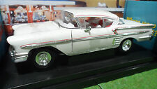 CHEVROLET IMPALA 1958 AMERICAN GRAFFITI 1/18 d AMERICAN MUSCLE ERTL 32079 voitur