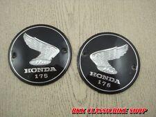 Honda 175 CA175 CD175 CB175 CL175 Emblem Fuel Tank L/R / 1 PAIR // JAPAN