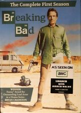 BREAKING BAD The COMPLETE FIRST SEASON All Seven Episodes+Lots of Bonus Features