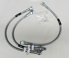 67-68 GTO Firebird Trans Am Steel Braided Brake Lines DISC-DRUM DOT RUSSELL