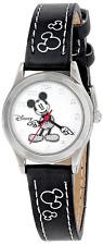 Disney Women's Mickey Mouse Dial Strap Watch White MK1006