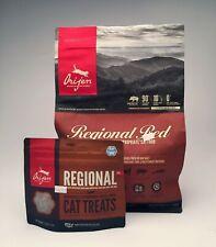 Orijen regional red dry Cat Food 4 lbs, + Treat bag, New High-Protein, premium