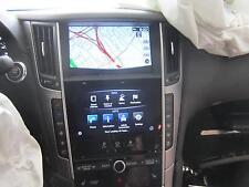 2014-2015 INFINITI Q50 PREMIUM Radio Navigation CD Player Receiver COMPLETE OEM
