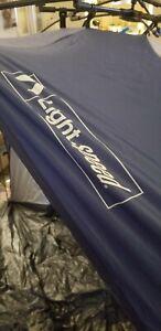 Lightspeed Outdoors Quick Cabana Beach Tent Sun Shelter Blue Tide