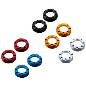 KCNC Cycling Crank Self-Extractor M22 Cap for Truvativ/FSA/Shimano crankset use