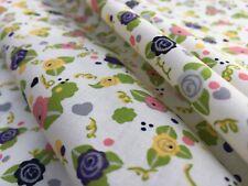 John Lewis cotton 100%, 'Floral Trinkets', (per metre) dress fabric, sewing