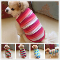 2019 Small Pet Dog Clothes Fashion Costume Vest Puppy Cat T-Shirt Summer Apparel