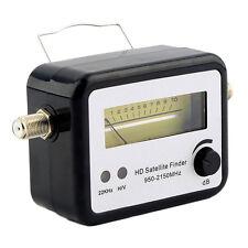 Digital Satellite Signal Finder Alignment Signal Satfinder Meter Compass FTA New