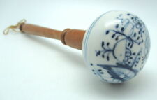 Vintage Kitchen Meissen Blue And White Onion Pattern Porcelain Small Stomper