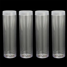 25mm Duraclear Penny/Cent Coin Tubes - Wheat back Steel Indian Head storage NEW
