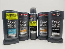 DOVE MEN + CARE INVISIBLE / CLAEAN COMFORT / SANDALWOOD 5 PACK STICKS & SPRAY