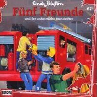 """FÜNF FREUNDE """"UND DER UNHEIMLICHE BRANDSTIFTER (FOLGE 67)"""" CD HÖRBUCH NEUWARE"""