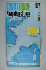 CARTE GUIDE NAVIGATION COTIERE 1007 PORTO AJACCIO PREPAREE PAR CLAUDE VERGNOT