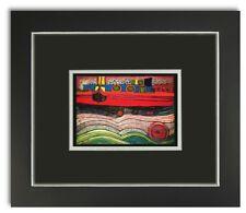 Bild Kunstdruck Friedensreich Hundertwasser Regentag auf Liebe Wellen