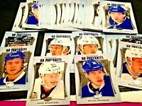 2016-17 Upper Deck Series 2 UD Rookie Portraits Complete Set P61- P110 Matthews
