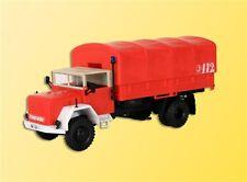 Kibri 18262 H0 LKW Magirus A6500 mit Faltdach Feuerwehr