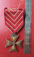 Belgique -  Superbe Médaille des Déportès 1914-18  ---  WWI