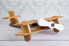 Wooden airplane photography props, newborn baby toddler photographer, wood plane
