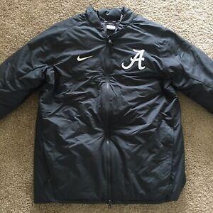 Nike Alabama Baseball Dugout Jacket Team/Player Issued Jacket AO4483-060 -Size M