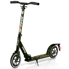 Hurtle Renegade Foldable Teen and Adult Commuter Kick Scooter, Camo (Used)