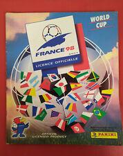 ALBUM PANINI FRANCE 98 coupe du monde world cup