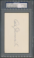 Andy Messersmith Signed Index Card PSA/DNA Certified Authentic Autograph *4974