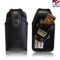 Turtleback Holster Heavy Duty Black Leather Case fits Kyocera DuraXT