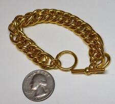Nuovo Vecchio Stock Anne Klein Color Oro Lucidato Spesso Catena Forma 18.4cm