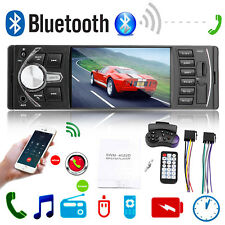 "4.1"" Autoradio Radio Coche MP3 Bluetooth Manos Libres Car USB SD AUX 1DIN ISO"