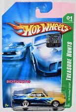 HOT WHEELS 2007 SUPER TREASURE HUNT '69 PONTIAC GTO FACTORY SEALED