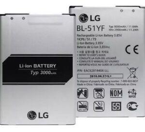 🔋 OEM Battery For LG G4 G 4 Four BL-51YF H810 H811 LS991 VS98 Batery Bateria