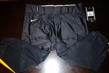 Team Nike Football Pants Mod Mizz Black/Yellow Mens X-Large