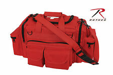 Medic Bag Rothco 2659 Red Ems Rescue Gear Medic Bag w/ White Medic Cross Logo