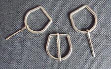 3 Gürtelschnalle Gürtelschliesse Buckle für 3 cm breite Gürtel Silberfarbig neu