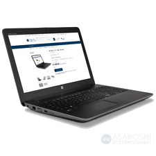 """HP Zbook 15 G4 Core i7-7700HQ 2.8GHz 15.6 """" UHD Dreamcolor 32GB RAM 1TB Nvme"""
